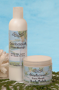 Onolicious Sugar Scrub and Lotion